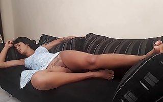 Caiu no sono no sofá da minha casa Shayenne Samara